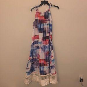 Anthropologie Printed Maxi Dress Size Medium NWT